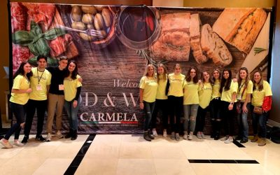 Carmela Food Show Food Drive Donation Crew