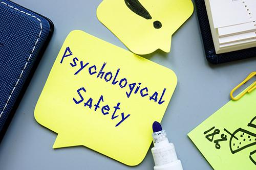 (R + I) x T = Psychological Safety